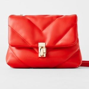 Zara Quilted Mini Crossbody